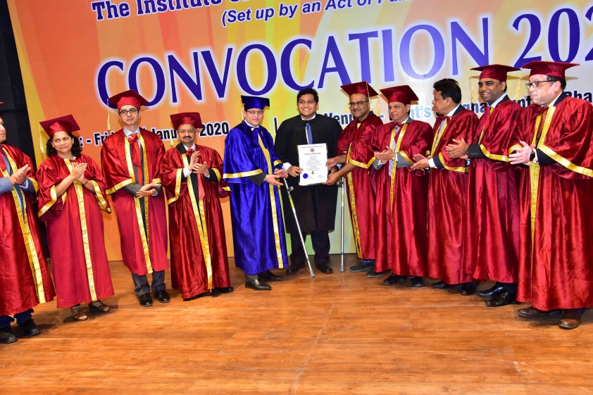 Photographs of Convocation Ceremony held on 3rd January, 2020 at Pune
