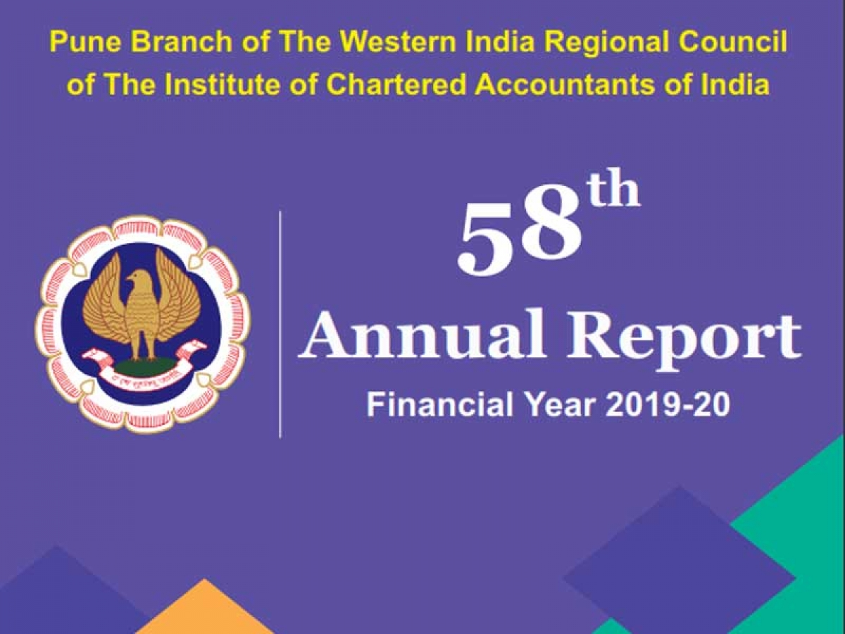 Annual Report of Pune ICAI 2019-20